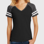 Ladies Game V Neck Tee