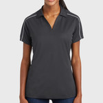 Ladies Micropique Sport Wick ® Piped Polo