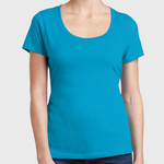 Ladies Perfect Weight ® Scoop Tee