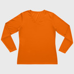 Ladies Long Sleeve Wicking T-shirt