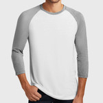 Mens Perfect Tri ™ 3/4 Sleeve Raglan