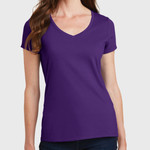Ladies Fan Favorite V Neck Tee