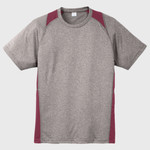 Heather Colorblock Contender ™ Tee