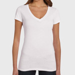 Women's Tissue Jersey Deep V-Neck T-Shirt