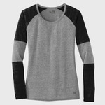 ® Ladies Tri Blend Performance Baseball Tee