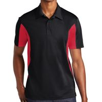 Tall Side Blocked Micropique Sport Wick ® Polo Thumbnail