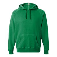 Vintage Hooded Sweatshirt with Contrast Color Stitching Thumbnail