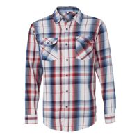 Long Sleeve Plaid Shirt Thumbnail