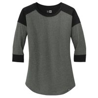 ® Ladies Heritage Blend 3/4 Sleeve Baseball Raglan Tee Thumbnail