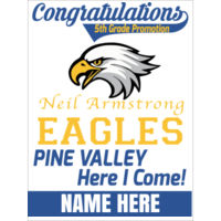 Neil Armstrong / Pine Valley - 18x24 sign custom name Thumbnail