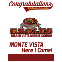 DVMS / MONTE VISTA - 18x24 sign custom name Thumbnail